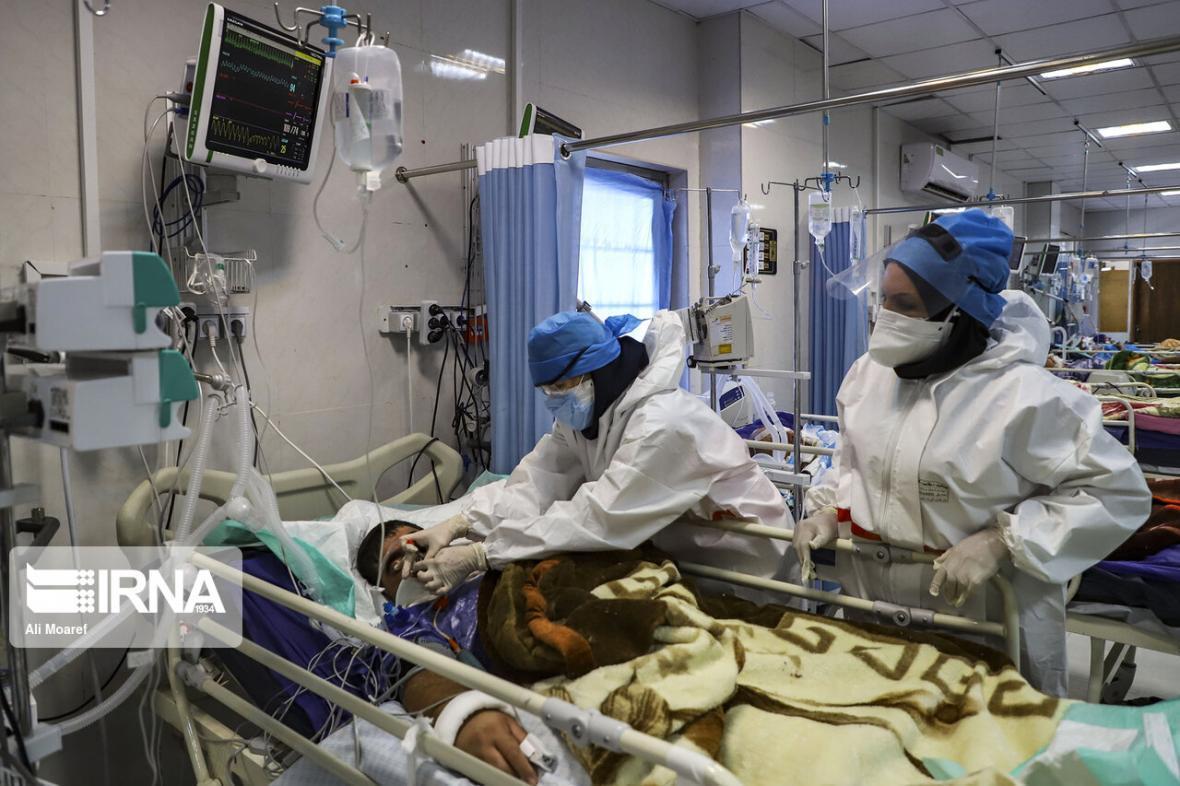 خبرنگاران بیماران کرونایی بستری در اردبیل افزایش نسبی یافت