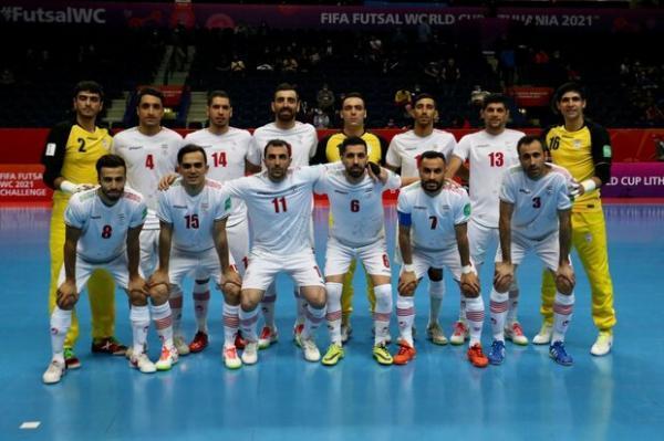 ترکیب تیم ملی فوتسال ایران مقابل ازبکستان تعیین شد